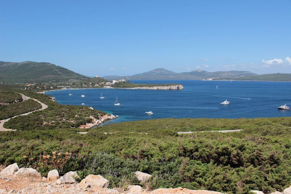 Sardegna Golfo Porto Conte Mare